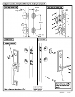 Emtek Installation Guide Tubular Monolithicentry Set