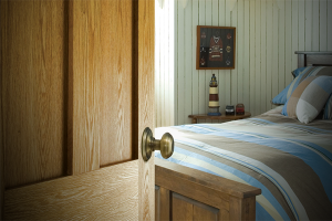 Lemieux Door Wood Door Bedroom