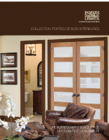 Lemieux Doors portes Debois Collection