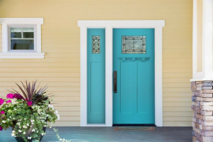 Masonite Doors - Blue Door