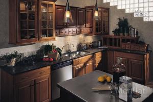 Merillat Cabinets in Kitchen