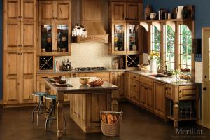 Merillat Wood Cabinets