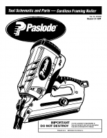 Paslode Cordless Framing Nailer Instructions