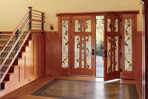 Simpson Door Company - Brown Wood Doors
