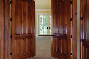 Simpson Door Company Brown Door
