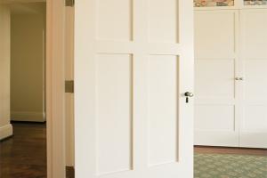 Simpson Door Company White Doors Green Carpet
