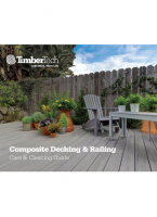 TimberTech Decking Care and Cleaning Guide