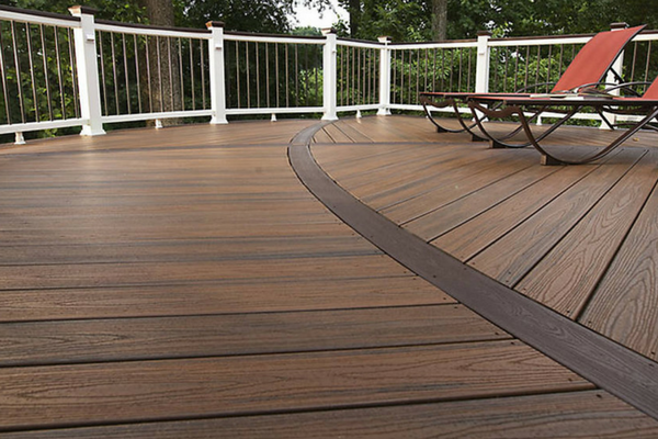Behnke 39 s paramus building supply trex for Building a composite deck