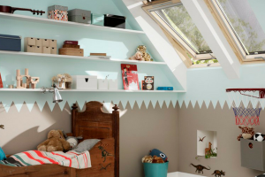 Velux Skylights in Child Bedroom