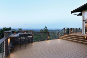 Timbertech Decking with Chairs